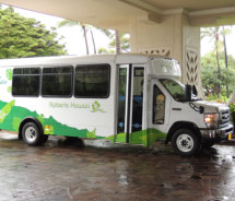 Sunny Poipu Express Shuttle // (c) 2012 Grand Hyatt Kauai Resort & Spa