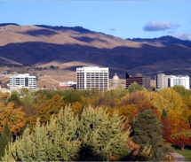 Downtown Boise, Idaho, is holding the Fall for Boise festival. // © 2010 Idaho Department of Commerce