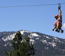 The zipline count in Idaho continues to increase. // © 2012 Zip Idaho