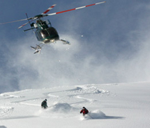 Teton Springs Lodge and Spa, which offers heli-skiing, is giving away a two-night stay. // (c) 2012 Teton Springs Lodge and Spa