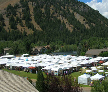 The Sun Valley Center Arts & Crafts Festival returns for its 43rd year. // © 2011 Sun Valley Center for the Arts