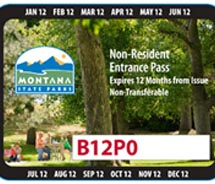 A Non-Resident pass for Montana State Parks is now available. // (c) 2012 Montana State Parks
