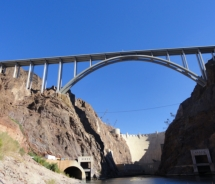 Hoover Dam Bypass Bridge // © 2010 Monica Poling