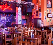 Football fans can root for their teams at Cabo Wabo // © 2011 Cabo Wabo Cantina