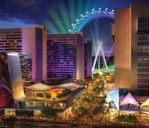 A rendering of the High Roller // © 2012 Caesars Entertainment