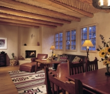 A Suite at the Rosewood Inn of the Anasazi // © 2010 Rosewood Inn of the Anasazi