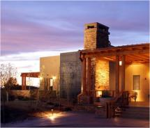 Rancho Encantado is one of many properties in Santa Fe, N.M., offering romance packages. // © 2011 Rancho Encantado