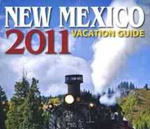 Clients may pick up a copy of the 2011 New Mexico Vacation Guide  throughout the state this year. // © 2011 New Mexico Tourism Department