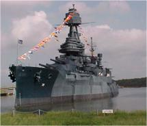 Battleship Texas was the flagship of the Texas Navy in 1948. // © 2011 D. Mitchell