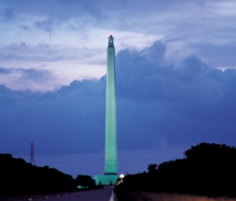 The San Jacinto Monument and Museum will serve as the site for the San Jacinto Day Festival and Battle Reenactment. // © 2011 Houston Visitors Bureau