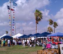 Marina Market Days is a new monthly event in Corpus Christi. // © TartanTed