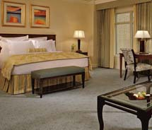 The Suite Treasures package at The Ritz-Carlton, Dallas is priced from $469 per night and includes a chance to win an iconic Bulgari watch.  // © 2012...