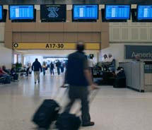 Passengers flying out of George Bush Intercontinental Airport on participating airlines may qualify for expedited security checks. // © 2012 George...