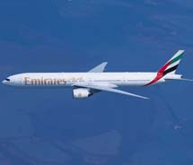 Emirates will serve Dallas/Fort Worth daily with a Boeing 777 aircraft.  // © 2012 Emirates