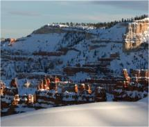Bryce Canyon Winter Festival offers free snowshoe hikes, various  kid-friendly clinics and competitive events, set against the backdrop of  Bryce...