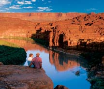 Clients can explore Utah's Cataract Canyon with Western River Expeditions.  // © 2012 Western River Expeditions