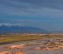 Salt Lake City International Airport took first place on the Major Airport On-Time Arrival Performance list. // © 2012 Visit Salt Lake