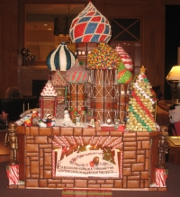 Gingerbread Village at Sheraton Seattle // (c) 2008