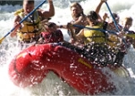 Osprey Rafting Company is leading clients on whitewater trips along the Tieton River // (c) 2009