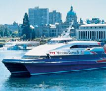 More than six million passengers have traveled aboard the fleet of Victoria Clipper catamarans. // © 2011 Clipper Vacations