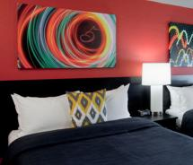 Hotel Five, the newest property of Pineapple Hospitality, has made its debut with 120 guestrooms // (c) 2012 Hotel Five