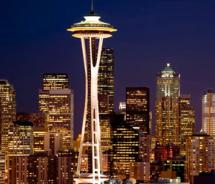 Seattle's iconic Space Needle // (c) 2012 Seattle CityPass