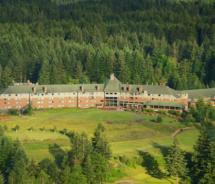 Skamania Lodge, a resort located in the Columbia River Gorge, is adding a zip line course // (c) 2012 Skamania Lodge