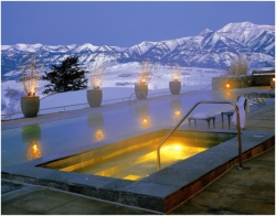 Amangani Resort, Jackson Hole // (c) 2009