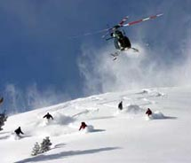 Jackson Hole's Spring Creek Ranch is offering a winter package that includes heli-skiing. // © 2011 Spring Creek Ranch