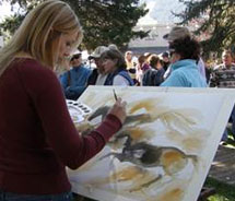 The Fall Arts Festival takes place in September. // © 2012 Jackson Hole Fall Arts Festival
