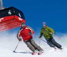 The Adult Grand Press provides unlimited skiing and riding for 135 days. // © 2011 Jackson Hole Mountain Resort