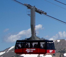 Ride the Aerial Tram at Jackson Hole Mountain Resort. // © 2013 Jackson Hole Mountain Resort