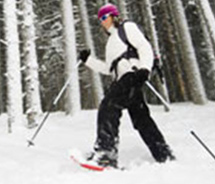 Skiing is a great way to explore Yellowstone National Park during the winter. // © 2013 Wyoming Tourism
