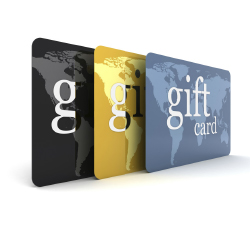 Gift Cards // © 2013 Thinkstock