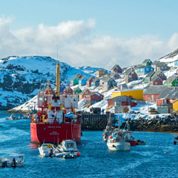 Visit Greenland on tour with Adventure Canada. // © 2015 iStock