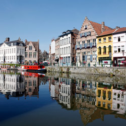 Ghent is one stop along Collette's Springtime Tulip River Cruise itinerary. // © 2016 iStock