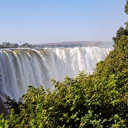 <p>See Victoria Falls during a trip to Africa from CroisiEurope Cruises. // © 2017 Creative Commons user <a...