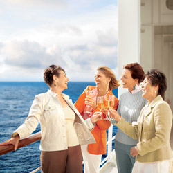 Earn a $500 American Express gift card by watching Cunard's latest video. // © 2015 Cunard Line