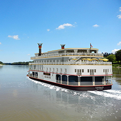<p>French America Line will give travel agents a $1,000 American Express Gift Card for every three cabins booked aboard Louisiane for travel in 2016....