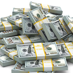 The winner of the G-Normous jackpot will receive thousands of dollars in cash. // © 2015 Thinkstock