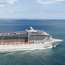 Book a cruise onboard MSC Divina for a chance to win a Fiat. // © 2014 MSC Cruises