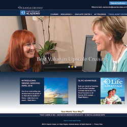 <p>Graduates of Oceania Cruises' Sales Specialist Academy will receive bonus commission, shipboard credit and more. // © 2016 Oceania...