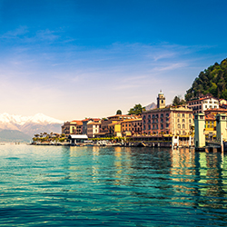 Agents who become iPrefer Members can give clients perks at Preferred Hotels' different locations, such as Lake Como, Italy. // © 2017 iStock