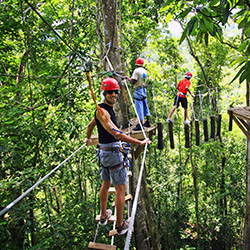 <p>Agents can enjoy tours, such as Saint Lucia's Rainforest Adventure tour, during Saint Lucia Tourist Board's incentive program. // © 2017 Saint...