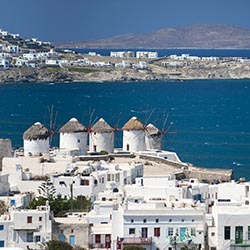 Win a trip to Mykonos, Greece, from Travel Bound. // © 2016 iStock