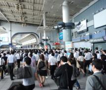 Tokyo's train stations are as crowded as ever. // (c) 2011 Pride Travel / S. Nathan DePetris