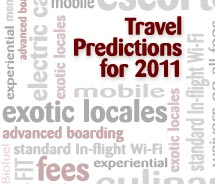 TAW Travel Predictions for 2011 // © 2010 Deborah Dimond