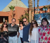 The TravelAge West staff at the Melia Cabo Real. // © 2012 Deborah Dimond