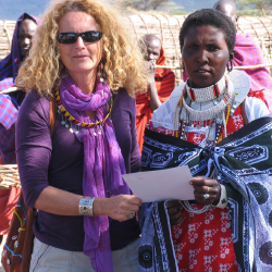 <p>Trips are focused on woman-to-woman cross-cultural exchange. // © 2017 Judi Wineland</p><p>Feature image (above): In 1982, Wineland visited with...
