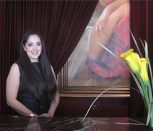 Jocelyn Ojeda, chief concierge for Eventi – A Kimpton Hotel in New York City // © 2011 Deanna Ting
